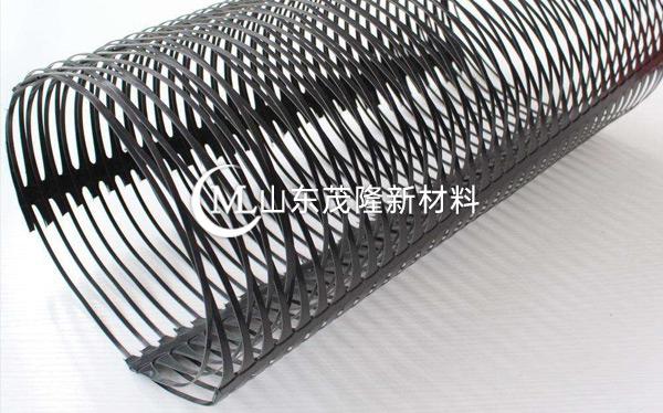 单向拉伸塑料土工格栅产品演示图1