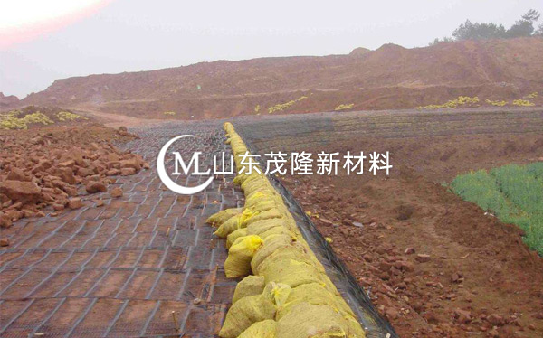 《东北区养殖场》土工格栅施工
