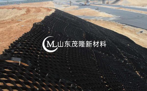 《京沪改扩建江苏段》土工格栅、土工格室施工