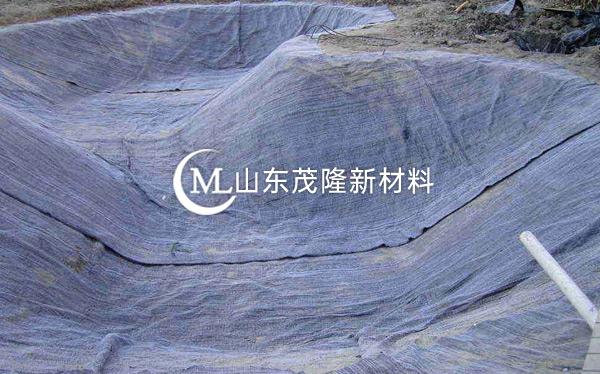 《河北邢台沙河治理》防水毯施工