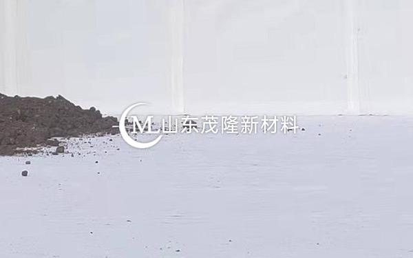 《青岛胶南属舰码头》土工布施工