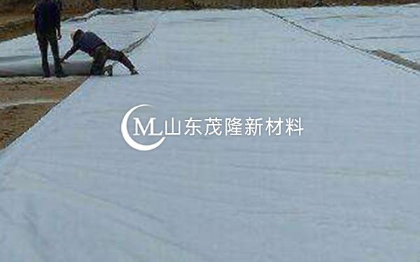 《云港高速公路》土工布施工
