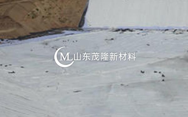 《河北廊坊永清垃圾填埋场》土工布、土工膜施工