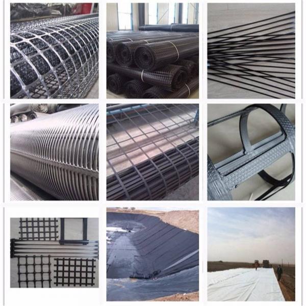 玻纤土工格栅具有抗拉强度高、延伸率低