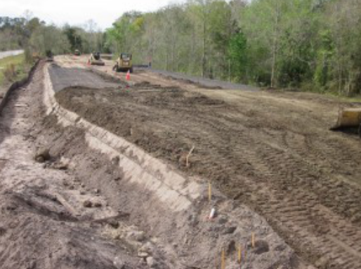 四川巴中多雨潮湿,土工格栅为道路扩建出力  第1张