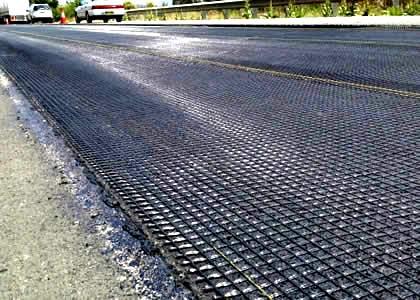 修建道路为什么要用玻纤土工格栅